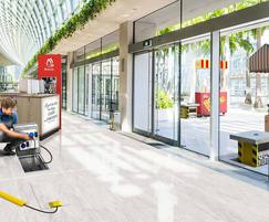 Pop Up Power Supplies: Power units for outdoor areas within shopping centres