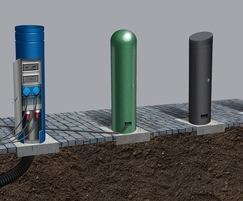 Pop Up Power Supplies: Power Supply Bollards –  effective outdoor power supply