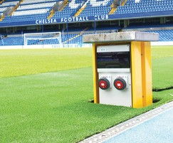 Pop Up Power Supplies: Pop Up Power Supplies® for multi-use sports venues