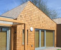 Silva Timber: Western Red Cedar shingles - the natural choice