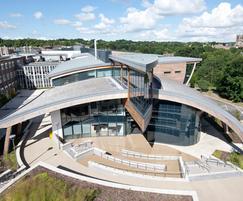 Western Red Cedar shingles - Durham University