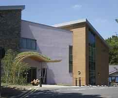 THOR™ Torrefied Cladding, Rotherham Hospital