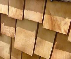 Premium Grade Tapersawn Western Red Cedar Shakes