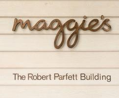 Siberian Larch cladding at Maggie's centre