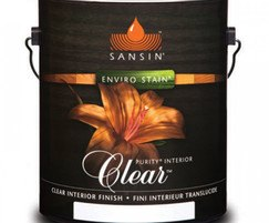 Sansin Purity Interior Clear wood finish