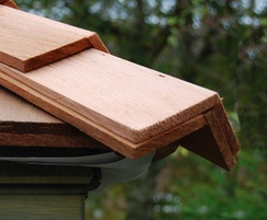 Pre-formed Western Red Cedar Hip and Ridge Caps