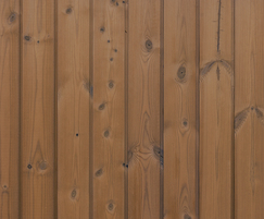 ThermoWood® Channel cladding - vertical installation