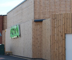 ThermoWood® Channel cladding
