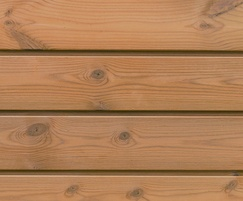 ThermoWood® Channel cladding - horizontal installation