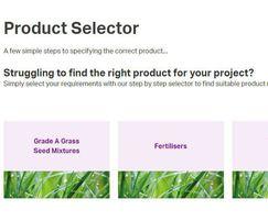 Germinal Amenity: New Germina product selector tool