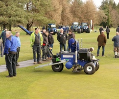 Germinal Amenity: Scottish turfgrass demo day goes down a storm