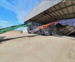 TOPSOIL : New Conveyor at British Sugar TOPSOIL Cantley