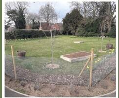 TOPSOIL : TOPSOIL donates HortLoam to Thetford cemetery