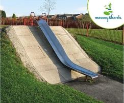Massey & Harris Stainless Steel Embankment Trough Slide
