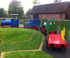 Bespoke play train and trailers