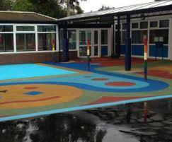 Playground redevelopment at Lancastrian School
