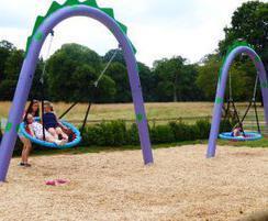 The Nessie Swing Set at Stockeld Park