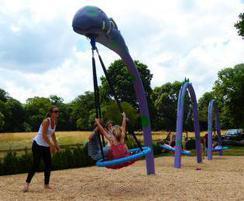 The Nessie Swing Set - Stockeld Park, Yorkshire