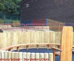 Storyteller area, Crab Lane Primary School