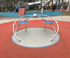 Wheelchair accessible roundabout