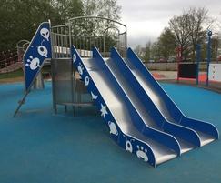 New slide designed for Heaton Park