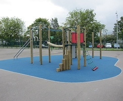 Play structures: Green End Primary School, Burnage