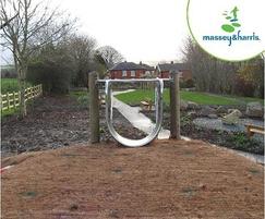 Massey & Harris Single bend Embankment Slide