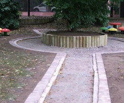 Play area construction, St Margarets CofE Primary Schoo