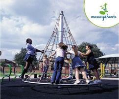 Massey & Harris 2.4m Spinning Cone Climber
