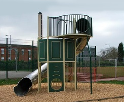 Massey & Harris Spiral Slide and Tower
