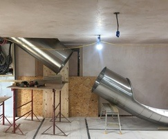 Installation of basement section