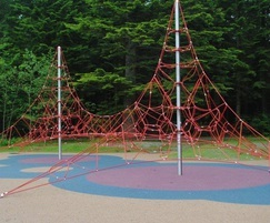 Twin mast activity nets - 4 and 6m