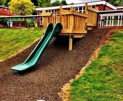 Expanded outdoor play areas, , All Saints, Leask