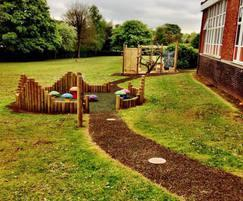 Free-flow play area for early years pupils