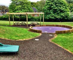 Early years free-flow play area - All Saints school