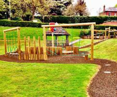 Free-flow early years play area, All Saints, Leask