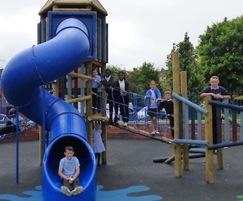 New equipment installed in school playground