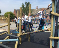 Primary school playground is now much more fun