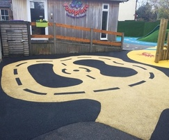Refurbished play area by Sovereign Design Play Systems