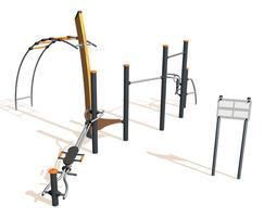 Vitality Stamina J3700 social fitness equipment