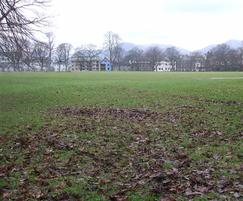Fitz Park prior to installation of the play park