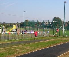 Proludic Play & Sports Areas: Check out the Zip Wire at Marford Road!