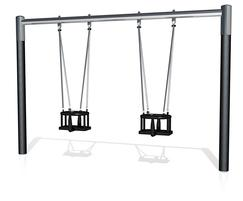 J481 traditional toddler cradle swings