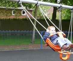 J481 traditional cradle swings, Aeropark, Lyneham