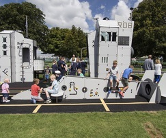Proludic Play & Sports Areas: Adding special FL-AIR to the Fleet Air Arm Museum