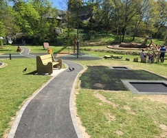 Playground designed by Proludic