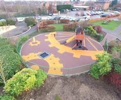 The sensory play area is designed for autistic children