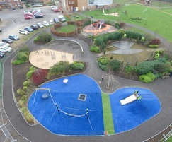 Children enjoy a sense of adventure at the playground