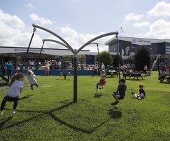 Children can enjoy a fun, educational environment
