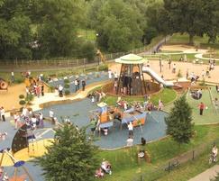 Play area, Welland Park, Market Harborough